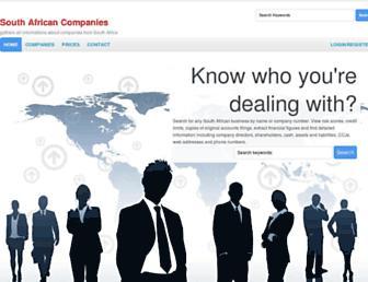 companies-southafrica.com screenshot