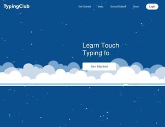Thumbshot of Typingclub.com
