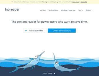 Thumbshot of Inoreader.com