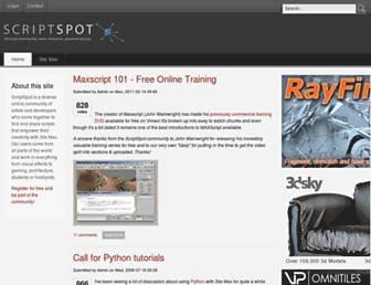 Thumbshot of Scriptspot.com