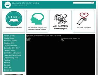 utgsu.ca screenshot