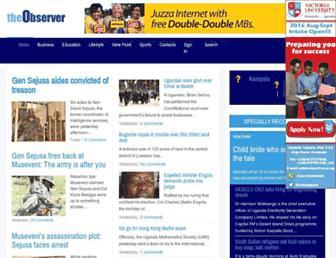 Thumbshot of Observer.ug