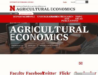agecon.unl.edu screenshot