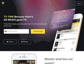 tvtime.com screenshot