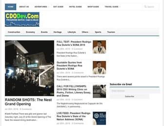 cdodev.com screenshot