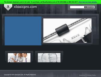 xbasicpro.com screenshot