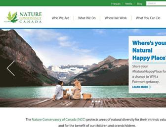 Thumbshot of Natureconservancy.ca
