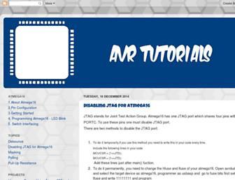 avrlogic.blogspot.com screenshot