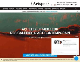 artsper.com screenshot