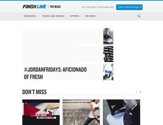 blog.finishline.com screenshot
