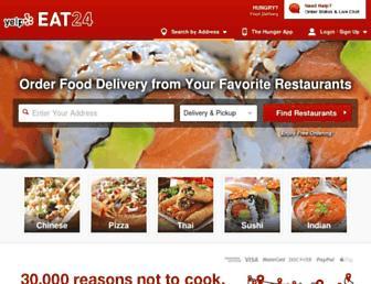 Thumbshot of Eat24.com