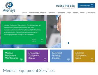 avensysmedical.co.uk screenshot