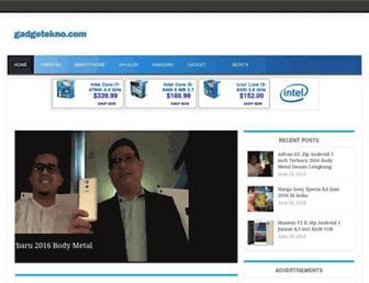 gadgetekno.com screenshot