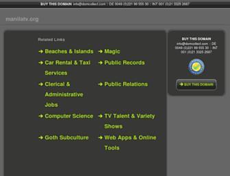 manilatv.org screenshot