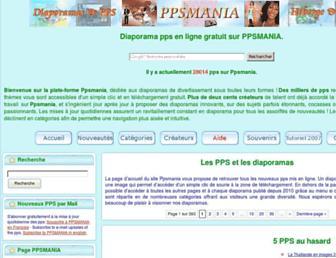ppsmania.fr screenshot