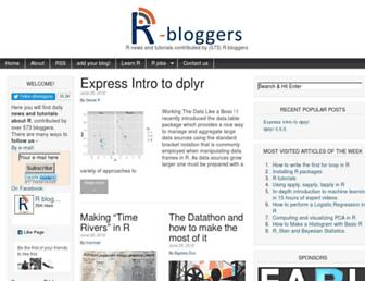 Thumbshot of R-bloggers.com