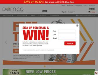 demco.com screenshot