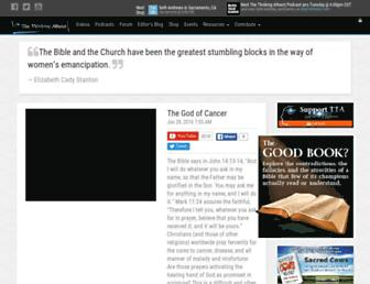 Thumbshot of Thethinkingatheist.com
