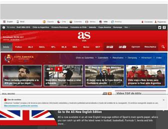 as.com screenshot