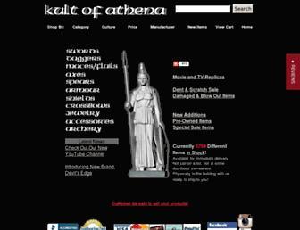 Thumbshot of Kultofathena.com