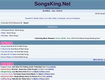 songsking.in screenshot