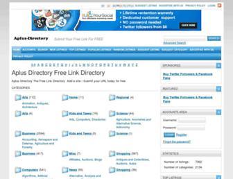 Thumbshot of Aplus-directory.com