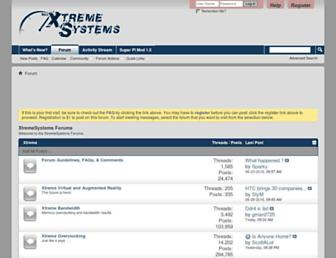 xtremesystems.org screenshot