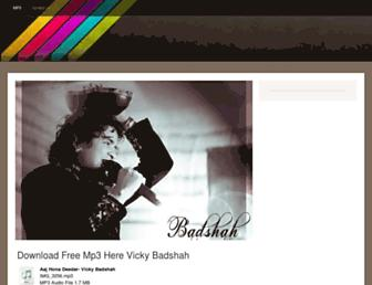 vickybadshahmp3.jimdo.com screenshot