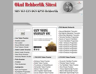 okulrehberlik.com screenshot