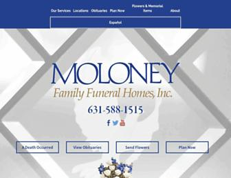 moloneyfh.com screenshot