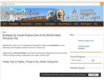 Thumbshot of Budapestbylocals.com