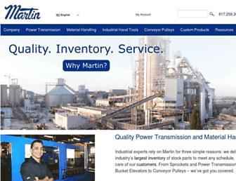 martinsprocket.com screenshot