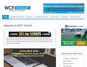 topwcftutorials.net screenshot