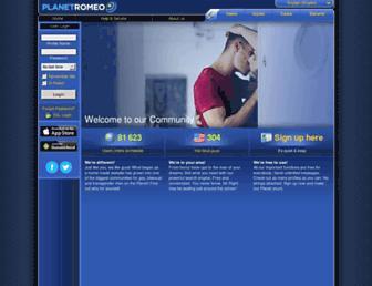 Website login classic planetromeo PlanetRomeo