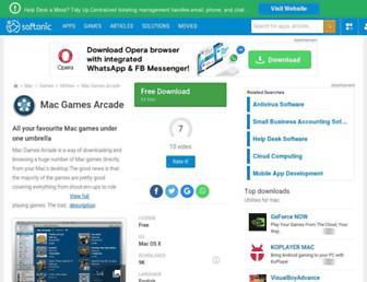 mac-games-arcade.en.softonic.com screenshot