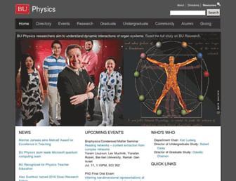physics.bu.edu screenshot