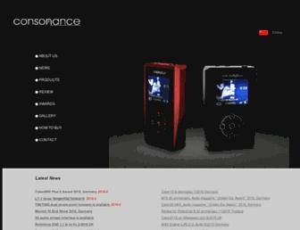 opera-consonance.com screenshot