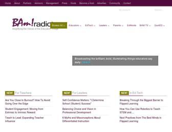 bamradionetwork.com screenshot