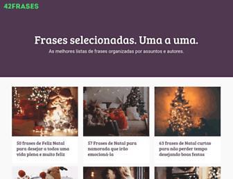 42frases.com.br screenshot