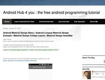 androidhub4you.com screenshot