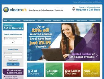 elearnuk.co.uk screenshot