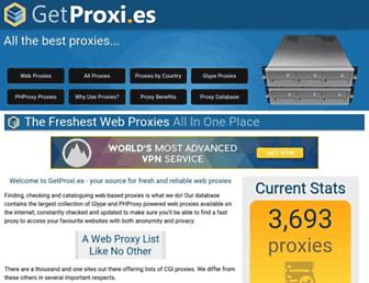 getproxi.es screenshot