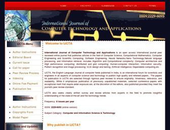 ijcta.com screenshot