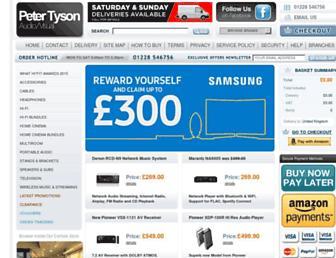 Thumbshot of Petertyson.co.uk