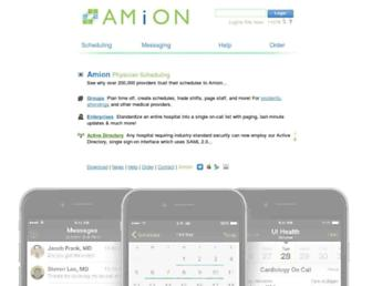 Thumbshot of Amion.com