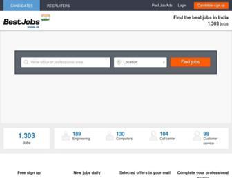 Thumbshot of Bestjobsindia.in