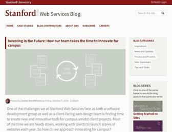 swsblog.stanford.edu screenshot