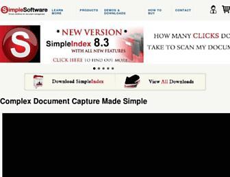 simpleindex.com screenshot