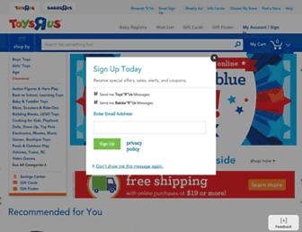Thumbshot of Toysrus.com