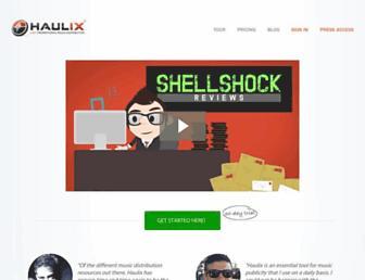 haulix.com screenshot